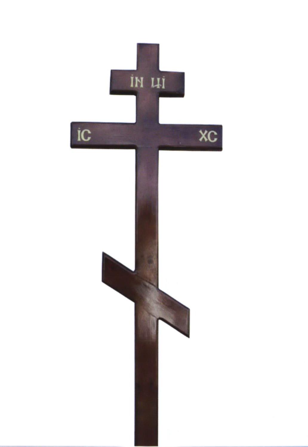 Крест на могилу своими руками размеры